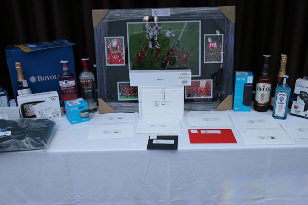 Community First Awards 2019 raffle and auction prizes